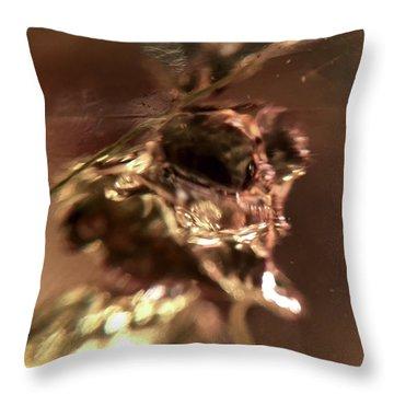 Giger Flower, A Monster Throw Pillow