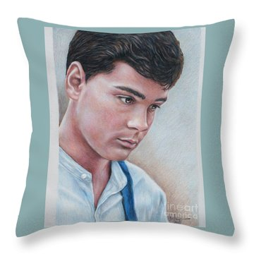 Gilbert Blythe / Jonathan Crombie Throw Pillow