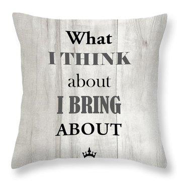 Gilda-gram Decor II Throw Pillow