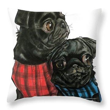Giles 3540 Throw Pillow