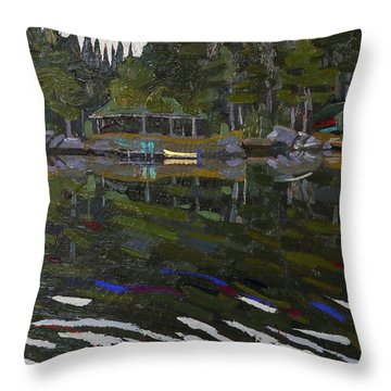 Gilmour Island Throw Pillow