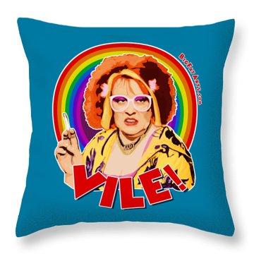 Gimme Gimme Gimme - Vile Throw Pillow