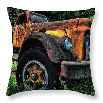 Jimmy Diesel Throw Pillow