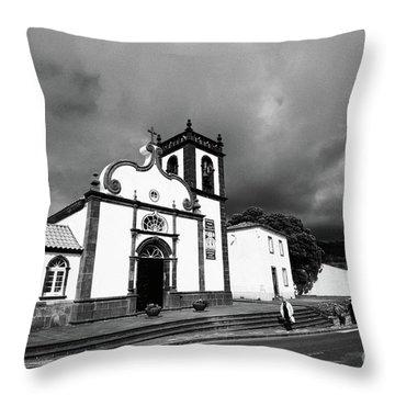 Ginetes - Azores Islands Throw Pillow by Gaspar Avila