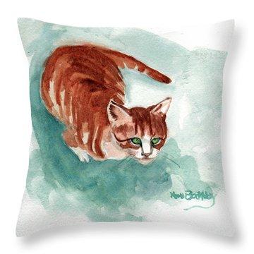 Ginger Boy 2 Throw Pillow