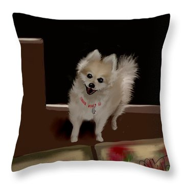 Ginger Ll Throw Pillow