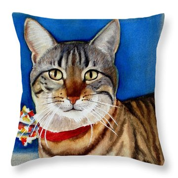 Ginger Throw Pillow by Marilyn Jacobson