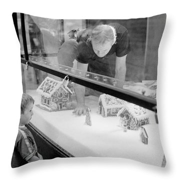 Throw Pillow featuring the photograph Gingerbread Dream by Dave Beckerman