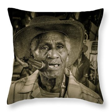 Gip Throw Pillow
