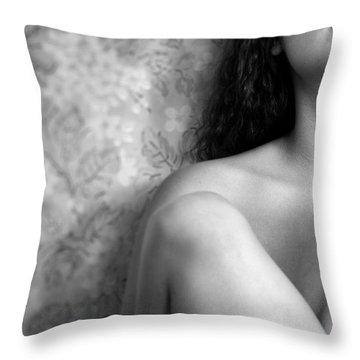 Girl #4529 Throw Pillow