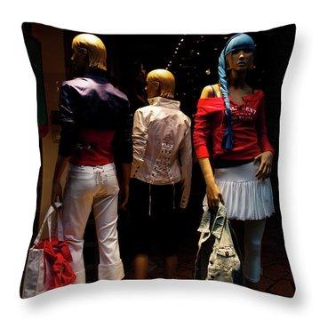 Girls_01 Throw Pillow