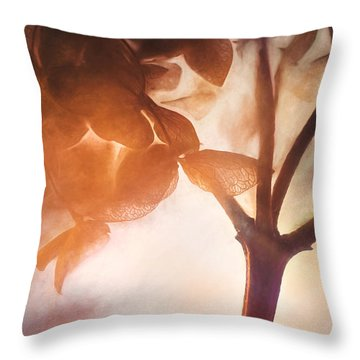 Give Thanks For The Light Throw Pillow