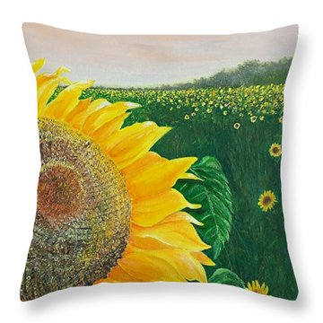 Giver Of Life Throw Pillow