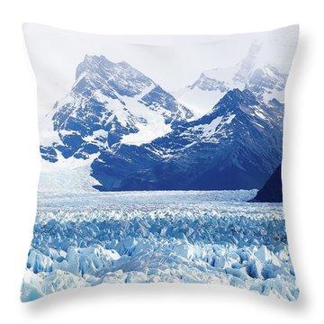 Glaciar 55 Throw Pillow
