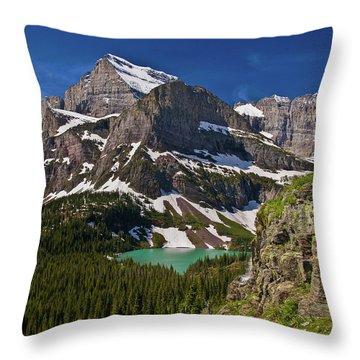 Glacier Backcountry 2 Throw Pillow
