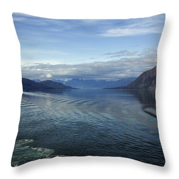 Glacier Bay 7 Throw Pillow