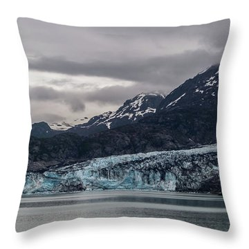 Glacier Bay Throw Pillow