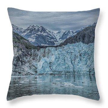Glacier Bay Throw Pillow