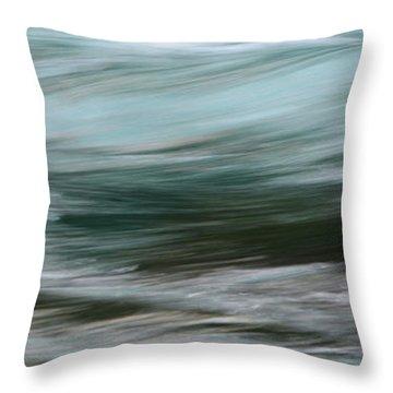 Glacier Born Throw Pillow