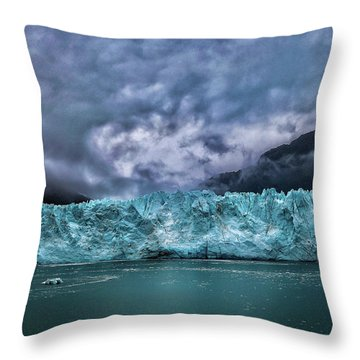 Glacier Throw Pillow