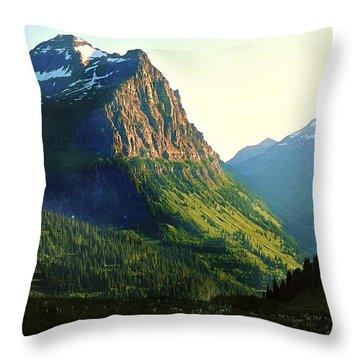 Glacier National Park 2 Throw Pillow