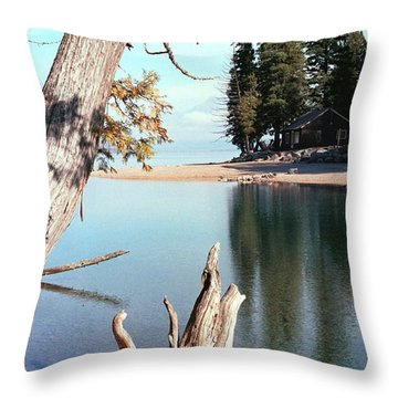 Glacier National Park 4 Throw Pillow