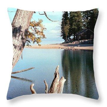 Glacier National Park 4 Throw Pillow