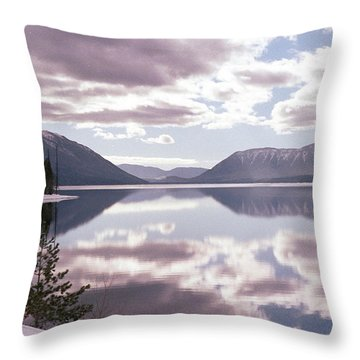 Glacier National Park 6 Throw Pillow