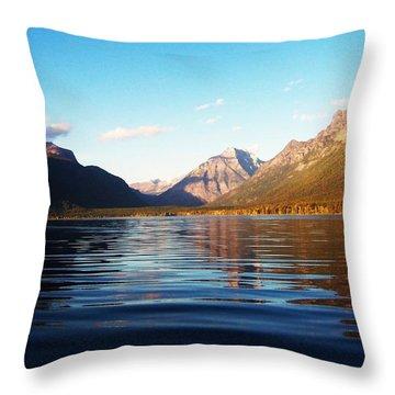 Glacier National Park 7 Throw Pillow