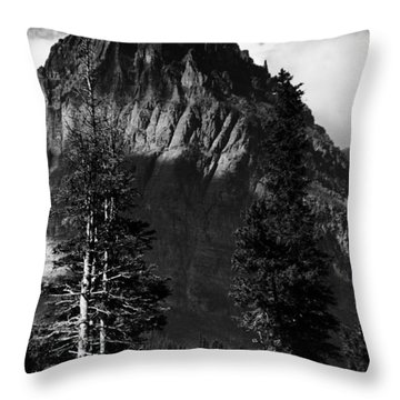 Throw Pillow featuring the photograph Glacier National Park Fifty Three by Kevin Blackburn