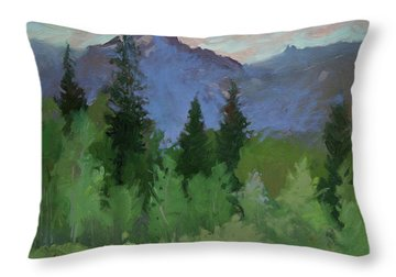 Betty Billups Throw Pillows