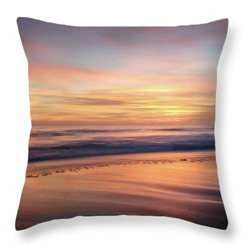 Throw Pillow featuring the photograph Glad We Stayed Longer by Quality HDR Photography