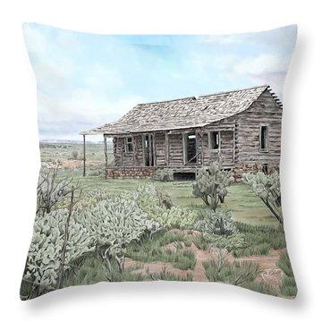 Glade Park Spring Throw Pillow