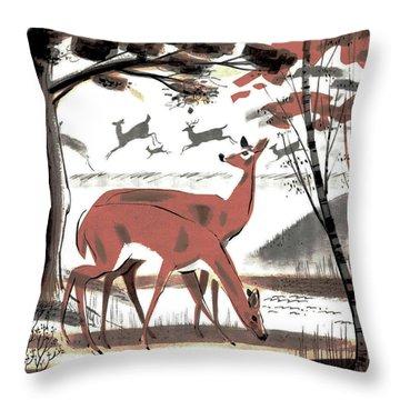 Glade Throw Pillow