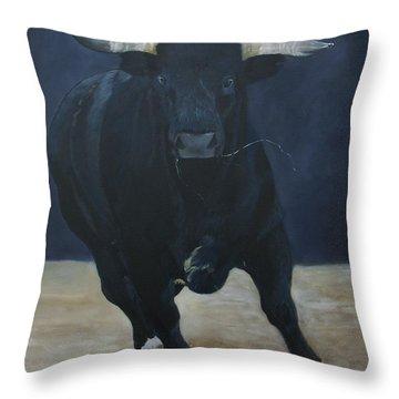 Gladiator Throw Pillow by Jean Yves Crispo