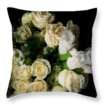 Throw Pillow featuring the photograph Glamour by RC DeWinter