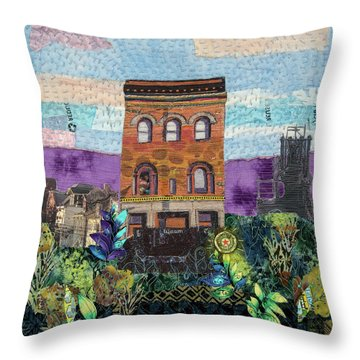 Glance At The Past II Throw Pillow