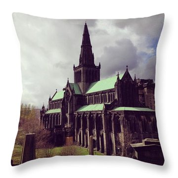 Lofty Devotion Throw Pillow