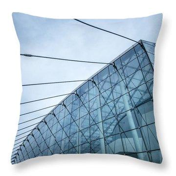 Glass And Sky Throw Pillow