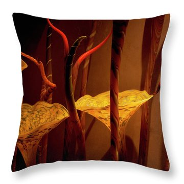 Throw Pillow featuring the photograph Glass Art by Ivete Basso Photography