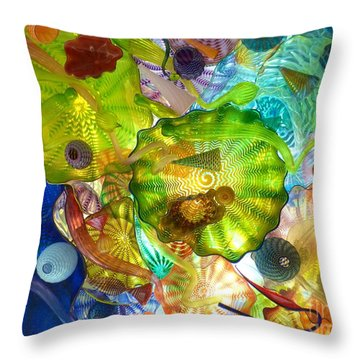 Glass Ceiling 2 Throw Pillow