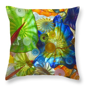 Glass Ceiling 5 Throw Pillow