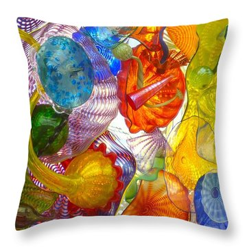 Glass Ceiling 6 Throw Pillow