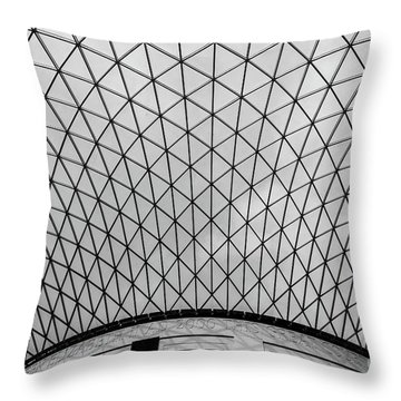 Throw Pillow featuring the photograph Glass Ceiling by MGL Meiklejohn Graphics Licensing