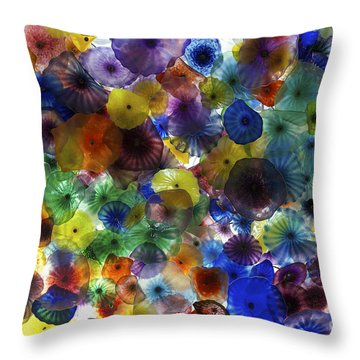 Throw Pillow featuring the photograph Glass Ceiling by Sandy Molinaro