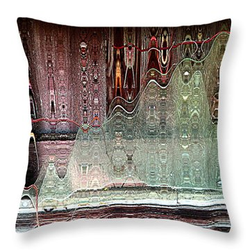 Glass House Throw Pillow by Shirley Sirois