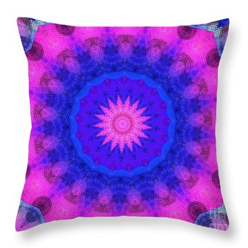 Glass Insanity Throw Pillow by Chad and Stacey Hall