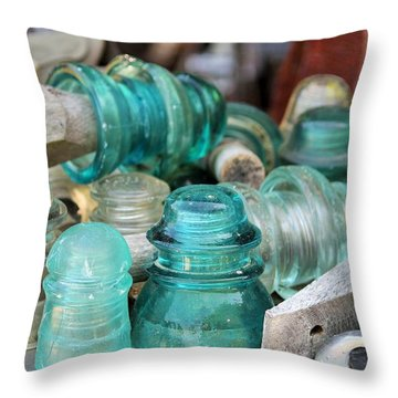 A Whole Bunch Throw Pillow