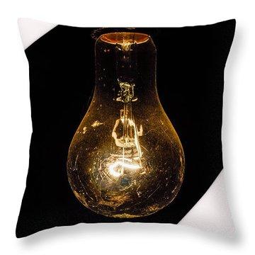Glass Light Art Throw Pillow