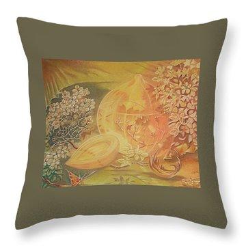 Glass Onion Throw Pillow